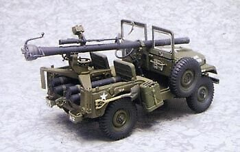 AFV Club 35S19 1:35 US M38A1C 1:4-Ton Jeep w/M40A1 106mm Recoiless Rifle