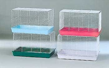 """2025 Rabbit & Guinea Pig Cage 23x14x15"""" Quantity of 4* Assorted colors only** for sale  Shipping to India"""