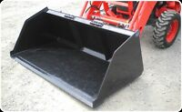BOBCAT AND SKID STEER SNOW & MULCH BUCKETS
