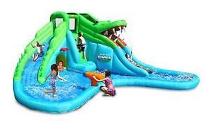 INFLATABLE WATER SLIDE CROC 9517