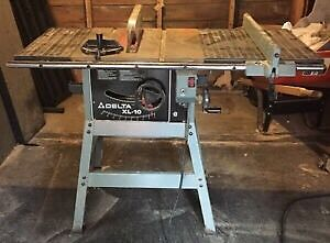Good condition delta xl-10 table saw