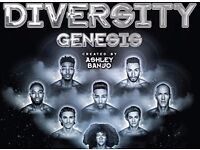 2x Tickets: Diversity - Bournemouth International Centre: Wednesday 19th April 2017
