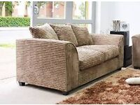 **GRAND OFFER**3 SEATER SOFA IN JUMBO FABRIC-ORDER IT NOW-