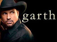 4 GARTH BROOKS Tickets...SAT, APR. 2nd...Section 304, Row J.