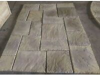 Buff concrete stone effect paving £2.50 each