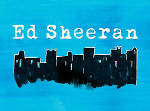Ed Sheeran Rogers Place - WED Jul 26 - FLOOR Seats - Row 15 -OBO