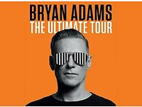 Bryan Adams x2 Tickets - Leeds Direct Arena (27th May 2018)