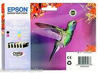 Original Epson T0807 Multipack (Humming Bird) For Sale