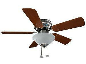 hugger ceiling fan ebay. Black Bedroom Furniture Sets. Home Design Ideas