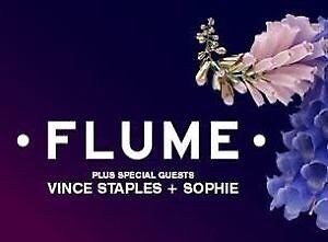 2x flume tickets Mona Vale Pittwater Area Preview