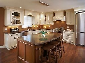 KITCHEN CABINET REFINISHING 1/4 COST OF BUYING NEW London Ontario image 4