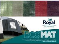 GROUND SHEET BRAND NEW 280 X 380cm ECO MAT GREEN IN COLOUR