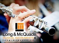 Flute/Clarinet/ Saxophone Lessons at Long & McQuade Woodstock
