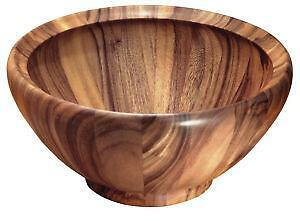 large wooden salad bowls