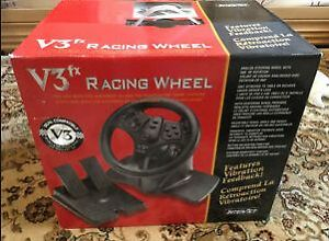 V3 FX Racing Wheel / Volant pour Playstation 2