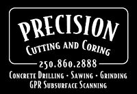 Looking for Experienced Concrete Cutter in Sunny Kelowna, B.C