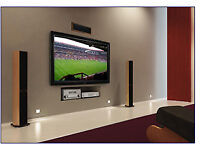 TV wall mounting Service with Cable management from £30 TV Aerial / Sky Satellite dish installation