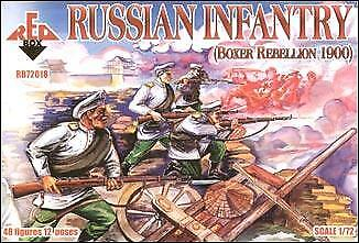 Red Box 1/72 Russian Infantry Boxer Rebellion 1900 # 72018