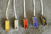 Mini Harmonica necklace. Actually plays! Key of C