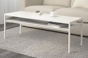 IKEA NYBODA Coffee Table (White/Grey) - MUST GO!!
