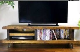 Brand new, solid wood tv stand