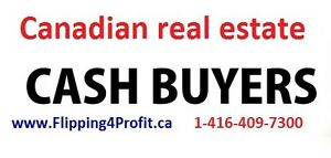 CASH for your Muskoka area properties FAST closing