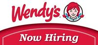 Wendy's Waterdown now hiring all positions and shifts