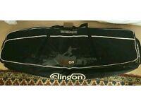 Full size padded wheelie wakeboard bag