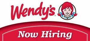 Wendy's  Waterdown Hiring Full & Part time  immediately