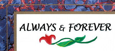 ALWAYS AND FOREVER NEEDLEART