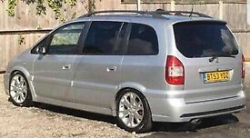 Vauxhall zafira GSI