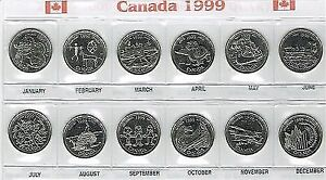 Canadian quarter collection