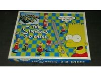 3D Chess set - The Simpsons