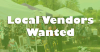 Vendors Wanted for 2018 Summer Music Festivals!!
