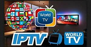 IPTV 12  months ANDROID TV BOX