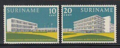 SURINAME Deaconess Residence & Hospital MNH set