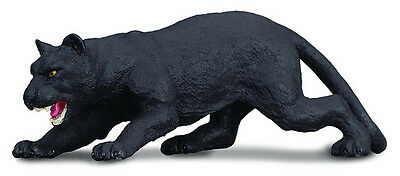 Black Panther Big Cat - CollectA 88205 Black Panther - Big Cat Wildlife Replica Toy Model - NIP