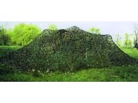 Camouflage Military Net; Woodland Camouflage Nets - High Spec 11.5m x 11.5m