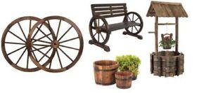 Yard decor and Planters