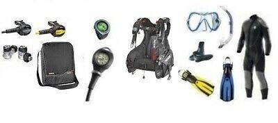 Mares Complete Set Diving Equipment Vielflieger Size 36-102 Dive Set ()