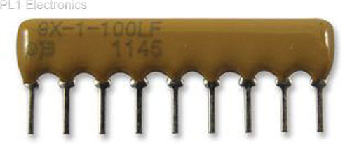 BOURNS - 4609X-101-471LF - RESISTOR NETWORK, 470R,Price For:  5