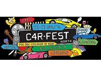 2x day adult tickets CARFEST NORTH Saturday 30th July