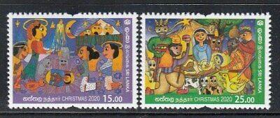 SRI LANKA Christmas 2020 MNH set