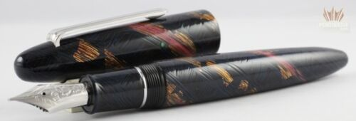 Sailor Limited Edition King Of Pens Maki-e Uchu Fountain Pen Magnificent Design!