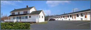 MOTEL & HOUSE FOR SALE - SYDNEY, CAPE BRETON ISLAND, NOVA SCOTIA