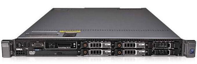 10 X Dell Poweredge R610 2 X Quad-core 16gb 1u Rack Servers Package