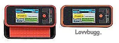 """Lovvbugg Orange Slider Phone for 18"""" American Girl Doll Accessory"""