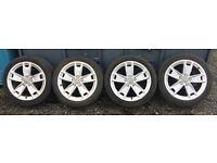 """17"""" Genuine Audi a3 Alloy wheels PCD 5x112"""
