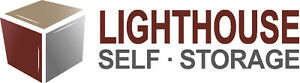 Lighthouse Self Storage a safe and secure storage environment
