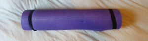 Yoga Exercise Mat, 1/2-Inch with Carrying Strap